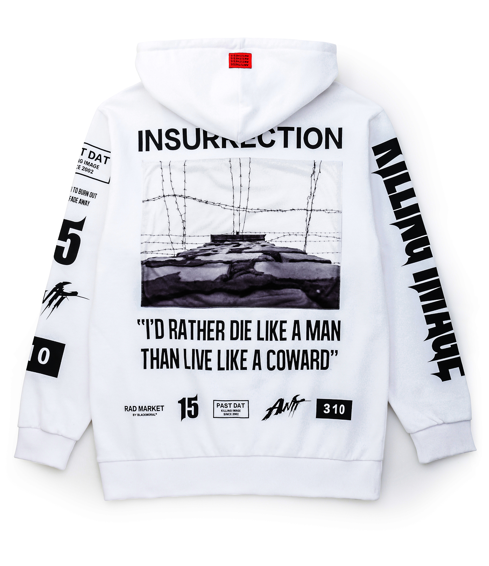 PULLOVER HOODIE / WHITE